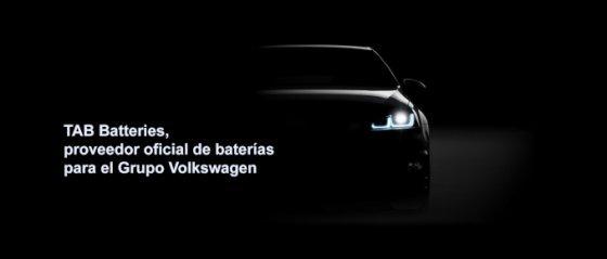 TAB Batteries proveedor de Volkswagen