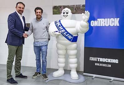 Michelin y Ontruck ofrecen ventajas a su red de transportistas
