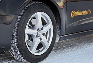 neumático para hielo y nieve