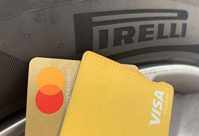 Pirelli autoriza pedidos con tarjeta a través de su web B2B