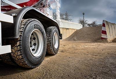 El nuevo neumático de GiTi Tire para camión aumenta un 20% su kilometraje