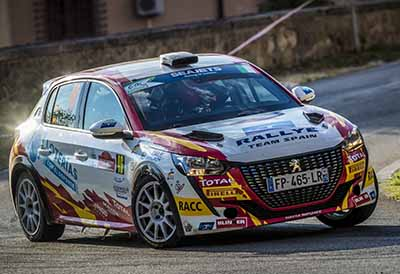 Triplete de Pirelli en el Campeonato España de Rallies de asfalto