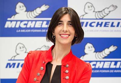 Michelin presenta a Elena Iborra como nueva directora de marketing