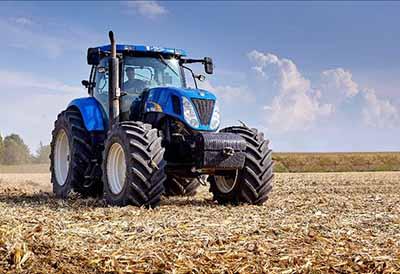 «Con buenos neumáticos tienes la mitad del trabajo hecho en el sector agrícola»