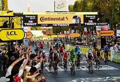 Continental contribuye con éxito en el Tour de Francia 2020