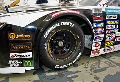 Comienzan las carreras Nascar con neumáticos General Tire