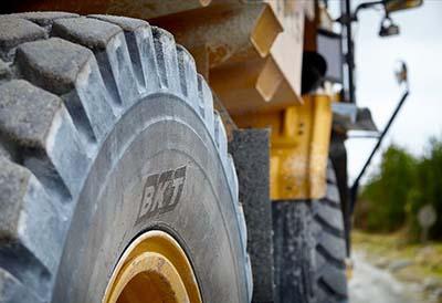 La elección del neumático para el trabajo en canteras