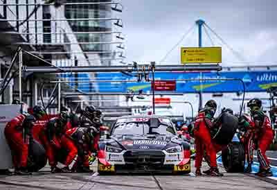 Un neumático de carrera Hankook para tres series de carreras