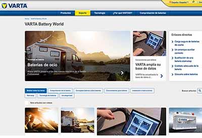 La división EMEA de Clarios lanza Varta Battery World
