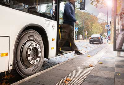 Nueva gama de neumáticos GiTi para autobuses eléctricos