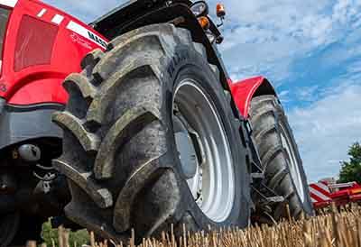 Neumático silencioso Vredestein Traxion 65 para tractores