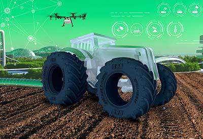 Retrato del Tractor del Futuro