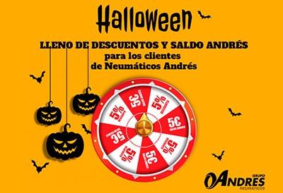 La Ruleta de Halloween del Grupo Andrés reparte más de 30.000€ a talleres