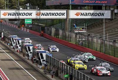Hankook destaca en las series de competición