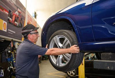 Los neumáticos detrás del 30% de las incidencias mecánicas en invierno
