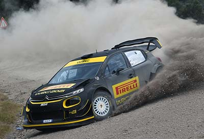Pirelli regresa al WRC con nuevos neumáticos