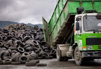 200.000 Tn de neumáticos transformadas en nuevos materiales