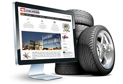 Neumáticos Soledad estrena web y actualiza la plataforma B2B
