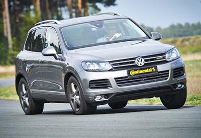 Neumáticos Continental para SUVs de altas prestaciones