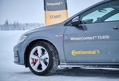 Los consumidores valoran positivamente los neumáticos de invierno Continental