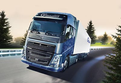 Goodyear Fuelmax equipa al transportista GlobalTruck
