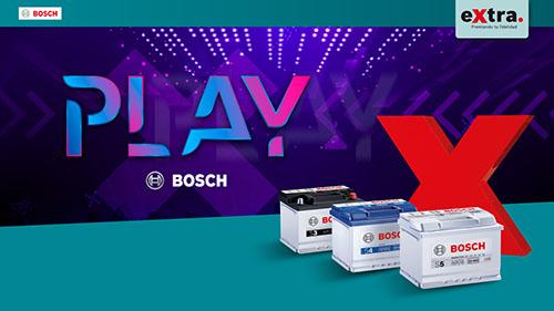"Bosch lanza la campaña ""Play Bosch"" de baterías"