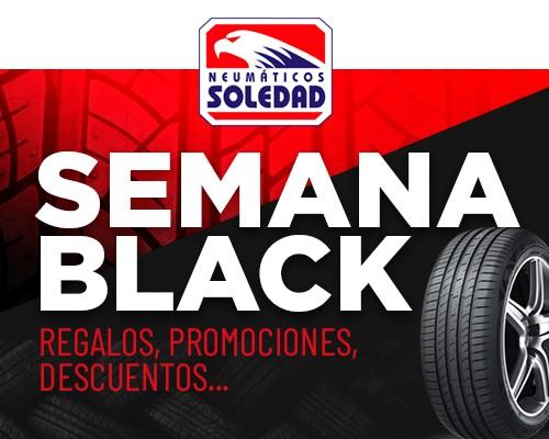 Neumáticos Soledad prepara su 'Semana Black' con ofertas B2B