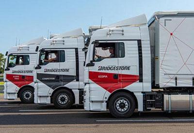 Neumático Bridgestone de invierno y todo tiempo para vehículos pesados