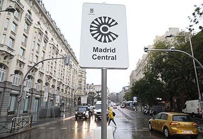 Los talleres de Madrid Central podrán seguir recibiendo vehículos A en 2021