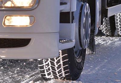 Neumáticos con marcaje de invierno ante la previsión de nevadas