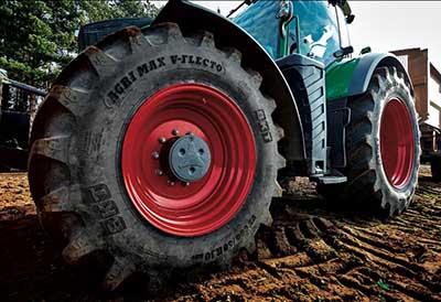 Bkt lanza nuevas medidas de la línea Agrimax V-Flecto