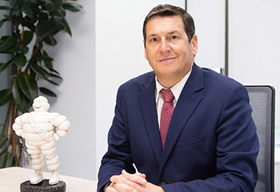 Antonio Crespo, nuevo director comercial de Michelin