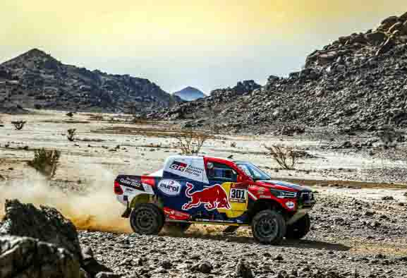 BFGoodrich consigue su decimoséptima victoria en el Dakar