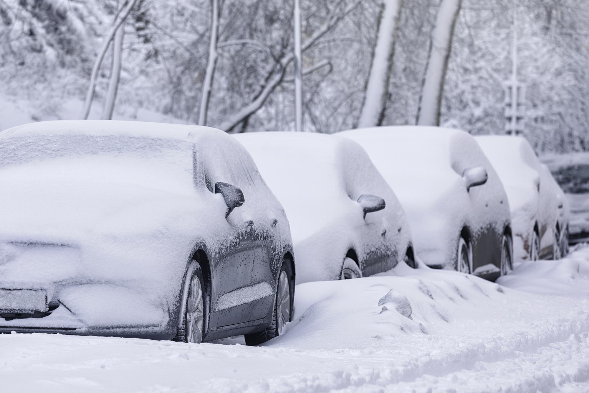 Cómo cuidar el vehículo si ha estado a la intemperie durante el temporal de frío