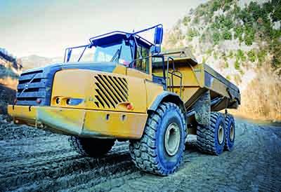 Nueva gama de neumáticos Trelleborg para palas cargadoras y dumpers