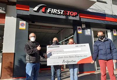 La campaña 'De esta salimos juntos' de Bridgestone ya tiene ganadores