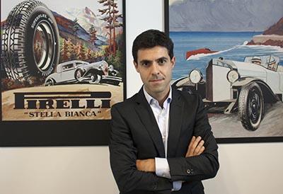 Alejandro Recasens vuelve a Pirelli como responsable para el Oeste de Europa