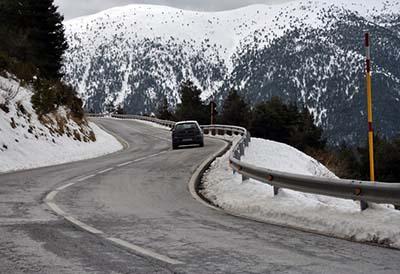 Las ventas de neumáticos de invierno en España son la décima parte que en Europa