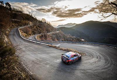 Pirelli inicia una nueva era en el Rally de Montecarlo