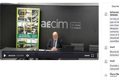 Los socios de la Asociación de Neumáticos Reciclados celebran su asamblea telematicamente