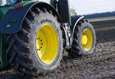 Nueva gama de neumático agrícola Kleber Topker IF
