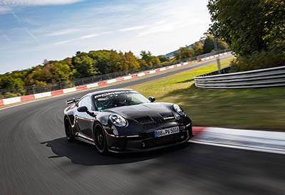 El nuevo Porsche 911 GT3 lleva Michelin Pilot Sport Cup 2