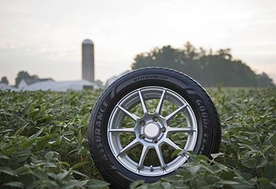 Goodyear produce neumáticos más sostenibles con el uso de soja