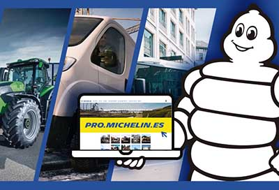 Michelin lanza una web para los profesionales de cualquier actividad industrial