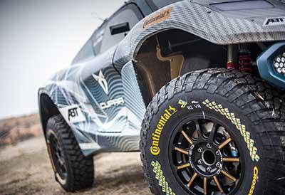 Continental presenta sus neumáticos mas extremos