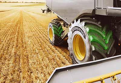 Garantia de 10 años para los neumáticos agrícolas de Bridgestone