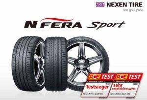 Nexen Tire in ACE Lenkrad