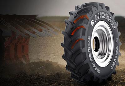 Safame distribuirá la marca Ascenso de neumático agricola e industrial