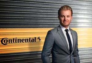 Nico Rosberg embajador de Continental