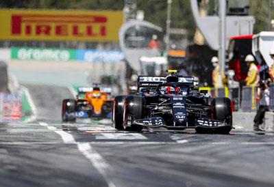 Hamilton gana el GP de F1 de España usando los compuestos medio y blando